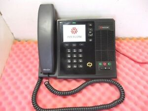 Lot Of 20 Polycom Cx600 Voip Phone W Handset Stand 2201 15942 001 T8 wh