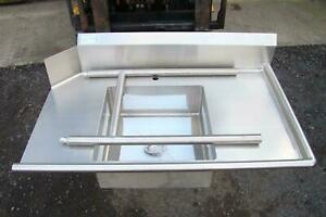 Stainless Select Soiled Dish Table Stainless Steel Right Side 48 X 28