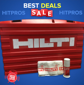 Hilti Case For Te 35 kit Box Only Preowned Free Grease Fast Shipping