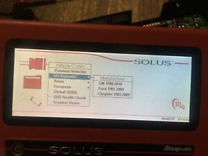 Snap On Scanner Solus Eesc310 Motherboard With One Card 10 4 No Covers No Screen