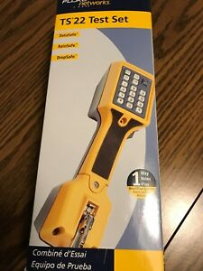 Fluke Networks Ts22 Telephone Lineman s Test Set With Clips 22800001