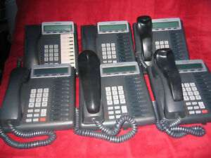 lot Of 6 Toshiba Dkt3210 sd Digital Business Phones