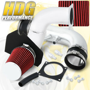 For 1996 2004 Ford Mustang Gt 4 6l V8 Performance Cold Air Intake Red Filter