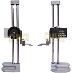Electronic Double Dual Twin Beam 24 600mm Height Gage Digital 001 Gauge