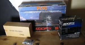 1988 Pc95 Audiovox Car Stereo New Vintage In Original Box Speakers