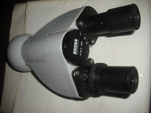 Zeiss Microscope Telescope Binocular Head 47 30 11 9901