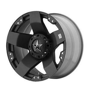 Xd Wheels Xd775 Rockstar Matte Black Wheel W Pxd77521067324