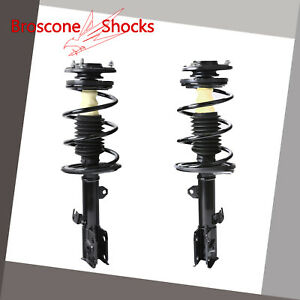 For 2009 2010 2011 2012 Toyota Corolla Front Pair Complete Shocks
