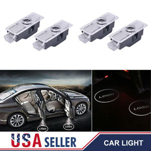 4pcs Logo Led Step Door Light Ghost Shadow Laser Projector For Bmw M Performance