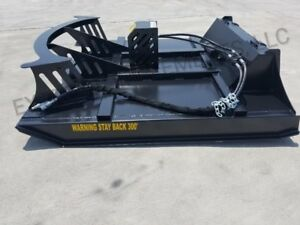 66 Deck 60 Cut Xbc 7 Extreme Skid Steer Brush Cutter 3 Blade same Day Shi