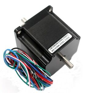 5718m 02del Nema23 Duel Shaft 3 0a Stepper Motor