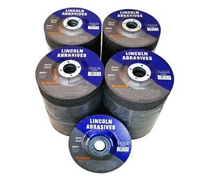 100 Pack 4 1 2 Grinding Wheels 1 4 Inch Thick 7 8 Arbor Metal Steel Discs