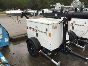 Generac Light Tower 2018 New With Only 20 Hours 2 Each