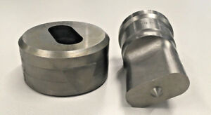 11 16 X 1 1 2 Inch 45 Oblong Punch Die For Scotchman And Dvorak Ironworkers