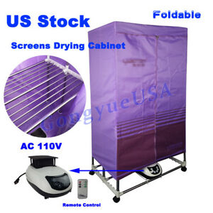 Simple Foldable Screens Drying Assembly Cabinet For Silk Screen Printing Dryer