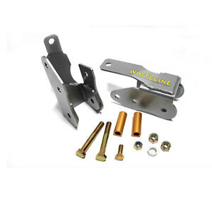 Whiteline For 05 14 Mustang Rear Lower Control Arm Relocation Brackets Kbr37