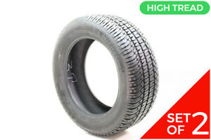 Set Of 2 Used 275 55r20 Michelin Ltx A t2 113t 14 32