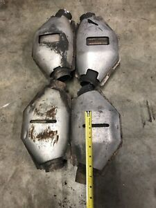 4 Scrap Catalytic Converters For Platinum Recovery