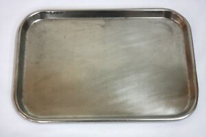 Polar Ware S 15 Stainless Steel Instrument Tray 284gs