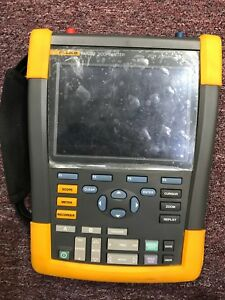 Used In Mint Condition fluke 190 202 Scopemeter 2 ch 200mhz 2 5gs s