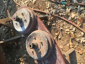 1928 1931 Model A Ford Truck coupe Original Rear Brake Drums