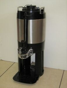 Bunn Tf 1 5 Gallon Stainless Thermofresh Coffee Tea Server Attached Base Nice