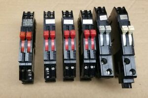 Zinsco Circuit Breakers Used removed From Working Panel