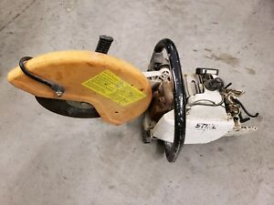 Stihl Ts400 Gas Powered Concrete Cut Off Saw For Parts Only