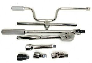 New Jh Williams 1 2 inch Drive Ratchet Socket Wrench Speed Handle And More