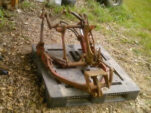 International Farmall Two Point Fast Hitch For A 230 Tractor 240