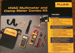 Fluke 116 323 Hvac Combo Kit new In Box Msrp 285