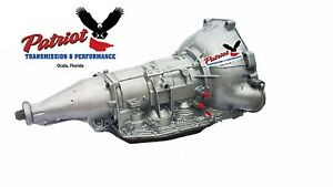 Aod Wide Ratio Ford Race Transmission Accepts C6 Non Lock Up Converter