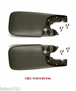Genuine Toyota 06 15 Tacoma Front Mud Guard Flap Set Flaps Oe Oem W Hardware