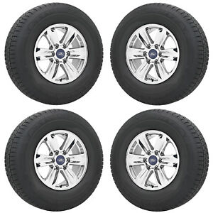 17 Ford F150 Truck Pvd Chrome Wheels Rims Tires Factory Oem Set 3995