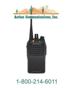 New Motorola Vx 451 g6 5 Uhf 403 470 Mhz 5 Watt 32 Channel Two Way Radio