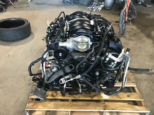2010 Chevy Camaro 6 2 L99 Complete Engine Pullout 6 Speed Auto Trans 67k Miles