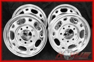 New 16 Chevy Gmc Silverado Sierra Suburban 2500 8 Lug Hd Alloy Wheels Rims 17