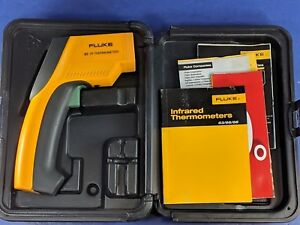 Fluke 63 Ir Infrared Thermometer Very Good Case