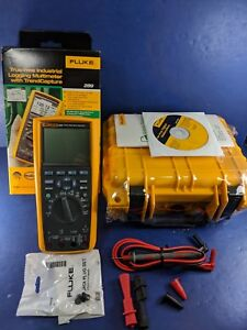 New Fluke 289 Trms Logging Multimeter Original Box Hard Case More