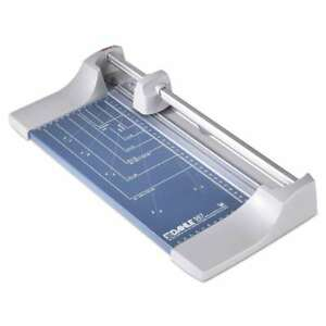 Dahle Rolling rotary Paper Trimmer cutter 7 Sheets 12 Cut Len 076769507005