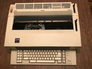 Vintage Ibm Wheelwriter 5 Electric Typewriter Wordprocessor tested