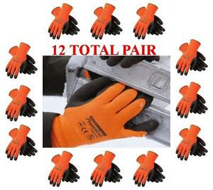 Pip Powergrab Thermo Lined Winter Work Glove 41 1400 Choose Size 12 Pair