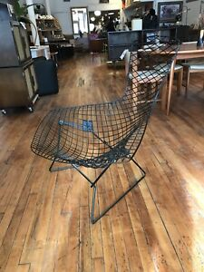 Vintage Harry Bertoia For Knoll Bird Lounge Wire Chair