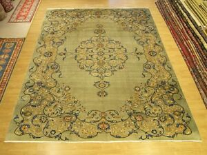 10 X 13 Handmade High Quality Antique Vintage 1930s Persian Rug Unusual Design