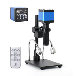 Full Set 37mp Hdmi 1080p Hd Usb Digital Microscope Camera With 150x Lens Solder