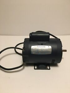 Leeson Electric Motor 100184 00 1 2hp 3450 Rpm 115 208 230 V
