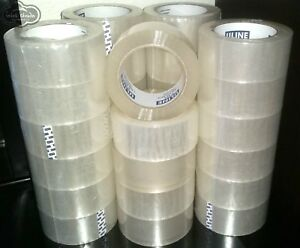12 New Rolls 1320 Yards Uline S 423 Packaging Packing Tape 2 X 110yds