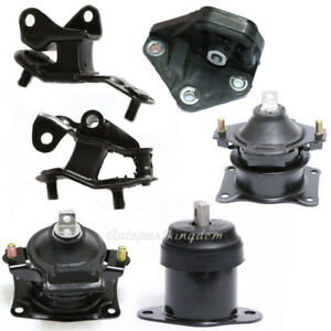 Fits 2003 2007 Honda Accord 2 4l Engine Motor Trans Mount Set 6pcs