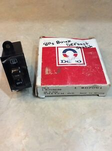 Nos Gm Delco Defrost Switch D 7051