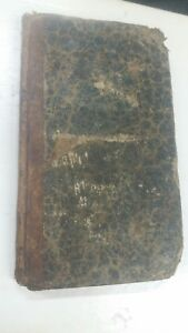 1828 Family Advisor Curing Disease Medical Book Daniel Cobb